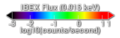 Local interstellar wind as seen by IBEX (color bar).tif