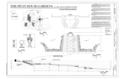Location plan, garden plan, site section, details. - Swan House Gardens, 3099 Andrews Drive, Northwest, Atlanta, Fulton County, GA HALS GA-2 (sheet 1 of 1).png