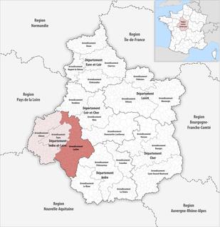 Arrondissement in Centre-Val de Loire, France