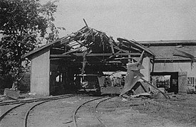 Locomotive boiler explosion, Labasa, Photographer unknown, 1912 (Australian National University).jpg
