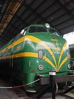 RENFE Class 340 class of 32 Spanish diesel-hydraulic locomotives