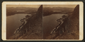 Looking down from Megunticook Mountain on Megunticook Lake, by H. A. Mills.png