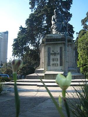 José María Orellana - Dr. Lorenzo Montúfar y Rivera monument in Avenida Reforma.