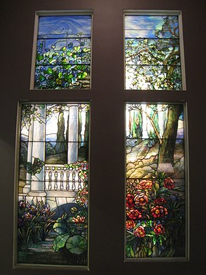 Louis Comfort Tiffany stained glass, Carnegie ...