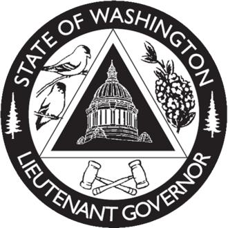 Seals of governors of the U.S. states - Image: Lt Gov Wa Seal