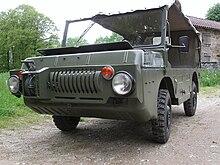 Военный транспортер на базе луаз элеваторы в кбр