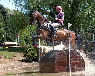 Lucinda Fredericks Australian equestrian