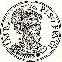 Lucius Calpurnius Piso Frugi (usurper) - Wikipedia, the free ...