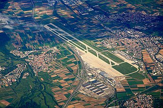 international airport serving the city of Stuttgart, Baden-Württemberg, Germany