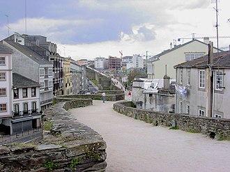 Roman walls of Lugo - Image: Lugo 060420