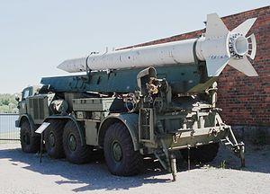 9K52 Luna-M - East German 9P113 TEL