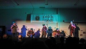 Lúnasa (band) - Lúnasa performing at the Celtic Hall in East Greenbush, New York