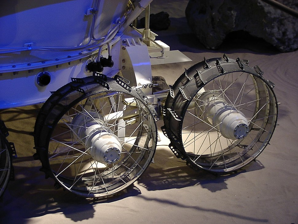 Lunokhod-2 model, detail