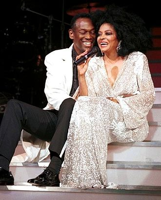 Luther Vandross - Vandross performing with Diana Ross in New York, July 2000