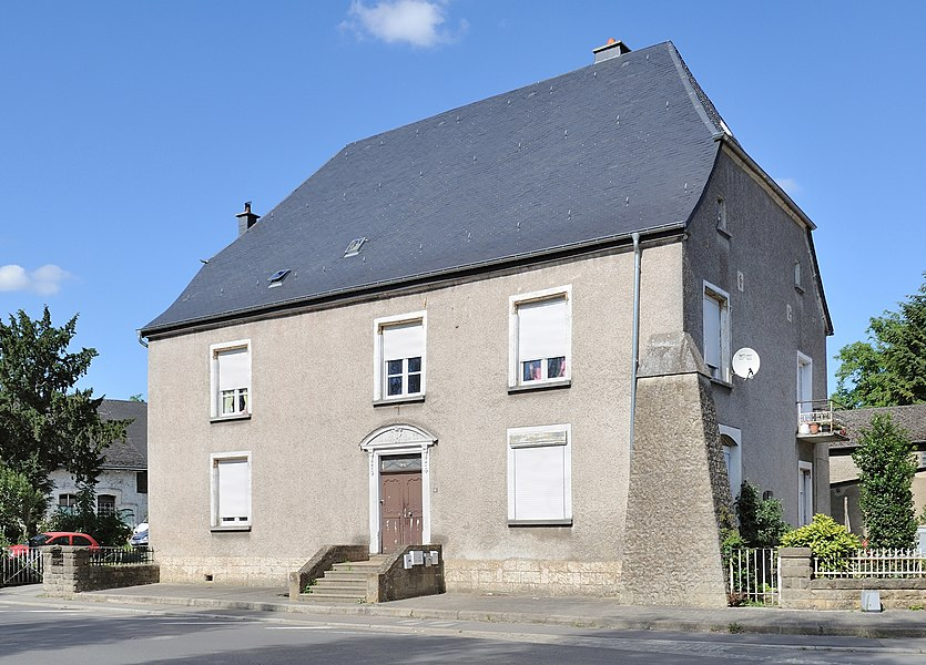 Luxembourg Lintgen: the house where Johann Philipp Bettendorff (1625-1698) was born.