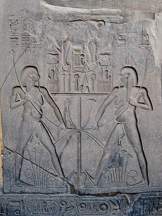 Upper and Lower Egypt - Image: Luxor Tempel 15
