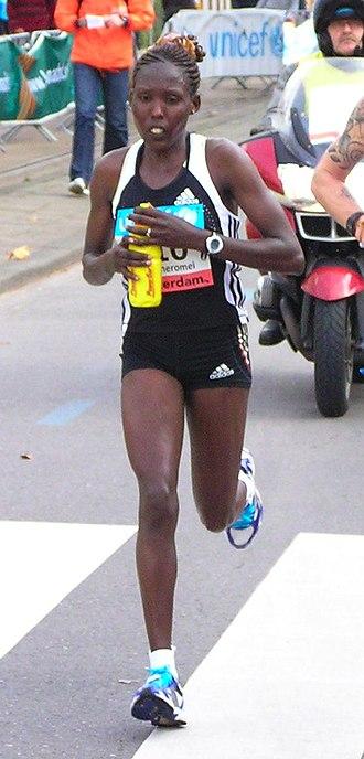 Prague Half Marathon - Kenya's Lydia Cheromei won the 2011 women's race in a course record time.
