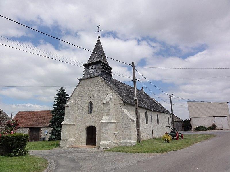Mâchecourt (Aisne) église