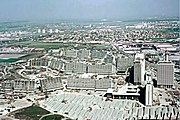 Münchner Olympia Dorf im Bau (1971)