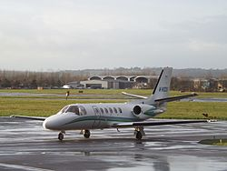M-WOOD Cessna Citation Bravo 550B (24158941595).jpg