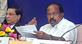 M. Veerappa Moily addressing a Press Conference on implementation of the recommendation of the Thirteenth Finance Commission for improvement in delivery of justice and other subjects of judicial reforms, in New Delhi.jpg