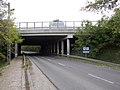 M3 Motorway over Gödöllői Road, N, 2020 Mogyoród.jpg