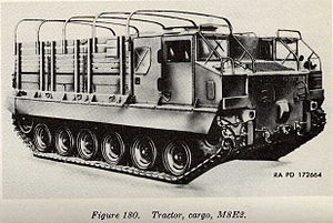 Ein M8 High-Speed Tractor