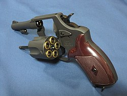 MARUSHIN POLICE REVOLVER (New Nambu M60) 3in-model 2011111903.JPG