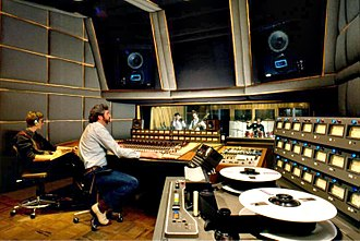 Music Center Incorporated - MCI equipped studio. Courtesy Fred Lyon