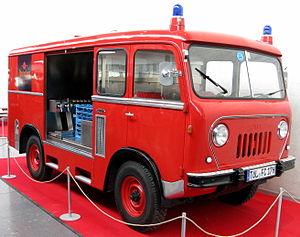 Jeep Forward Control - Fire engine van body Forward Control