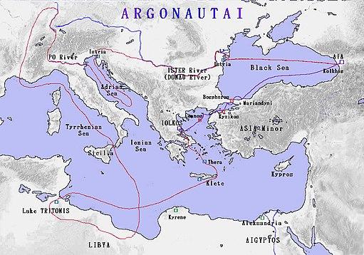 MS-Argonautai-route