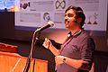 M Krishna Doss - Presentation - Collaboration between Microsoft and Indic Language Community - Bengali Wikipedia 10th Anniversary Celebration - Jadavpur University - Kolkata 2015-01-09 2751.JPG