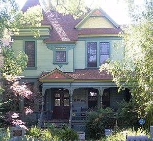 Machell-Seaman House - Machell-Seaman House, May 2008
