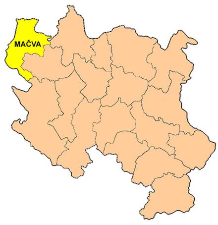 Districtul Mačva