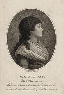 08 novembre 1793 (18 Brumaire): Exécution de Madame Roland 220px-Madame_Roland_par_Bonneville