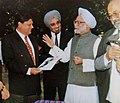 Madhavrao Scindia Manmohan Singh at The Doon School.jpg
