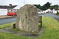 Maen Llwyd, Machynlleth standing stone.jpg