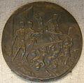 Maestro della leggenda di orfeo, enea e la sibilla cumana entrano nella barca di caronte, 1500-1525 circa.JPG