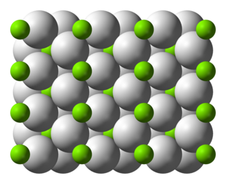 Magnesium hydride - Image: Magnesium hydride xtal 3D ionic B