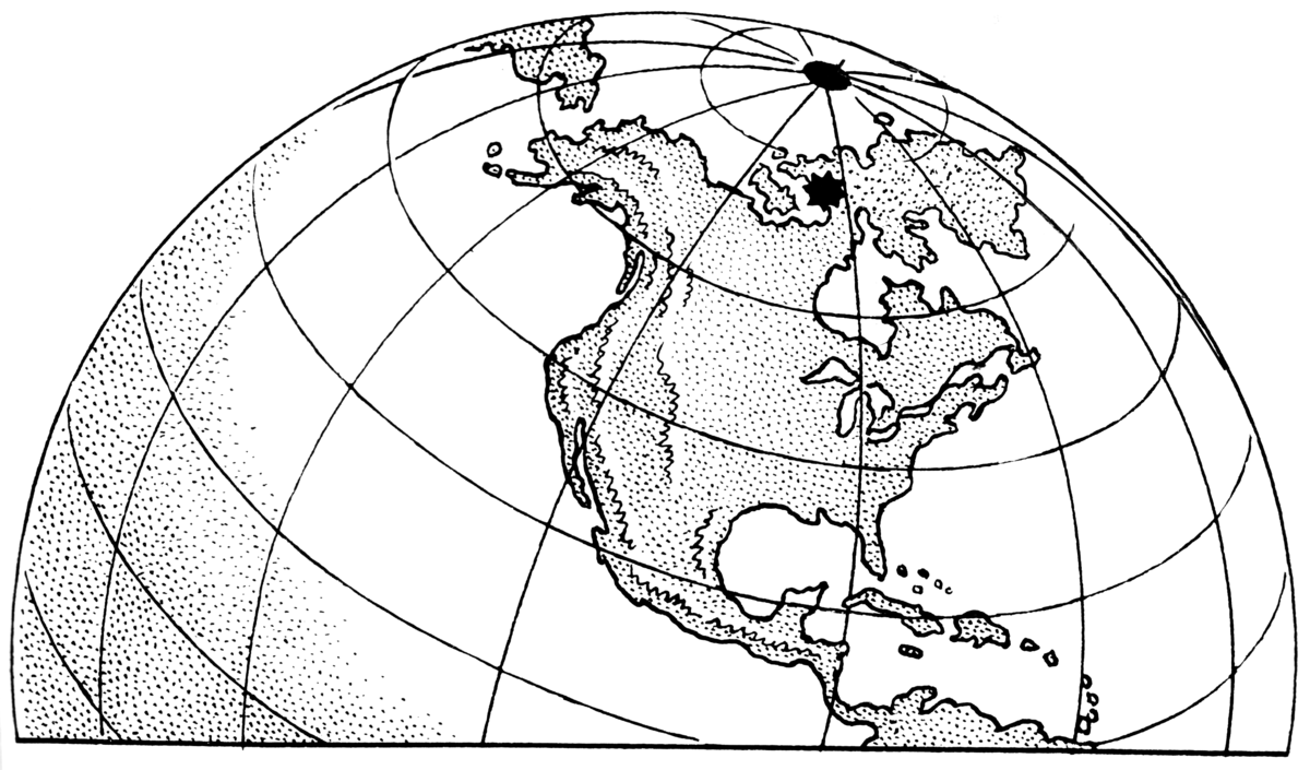 le nord magnetique