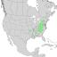Magnolia acuminata range map 1.png