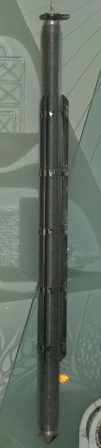 Nuclear fuel - A magnox fuel rod