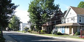 Chalfont, Pennsylvania - Main Street in Chalfont