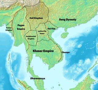 Hariphunchai Mon kingdom