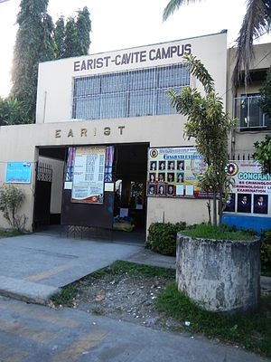 "Eulogio ""Amang"" Rodriguez Institute of Science and Technology - The entrance gate of the EARIST General Mariano Alvarez Campus in Cavite"