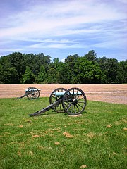 Malvern Cannons , Civil War Battlefield, RIchmond National Battlefield - Stierch