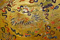 Man's robe (chuba), Tibet, made in China, detail, 19th century - Textile Museum of Canada - DSC00819.JPG