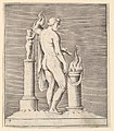 Man with Torch between Flaming Altar and Statuette MET DP819663.jpg