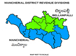 Mancherial District Revenue divisions.png
