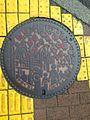 Manhole cover of Yamaguchi, Yamaguchi.jpg